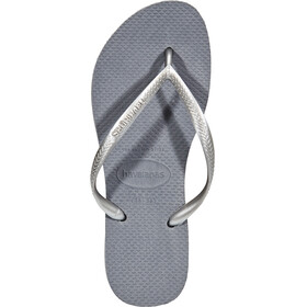 havaianas Slim Flips Women steel grey